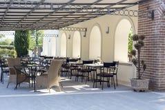 水池酒吧在旅馆 图库摄影