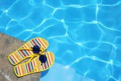 池鞋子 图库摄影