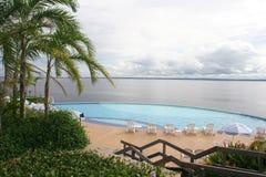 池,马瑙斯,巴西 免版税图库摄影