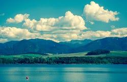 水水池Liptovska玛拉,斯洛伐克 库存图片
