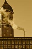 污染时间 库存图片