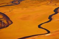 污染水 图库摄影