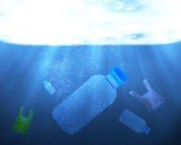 污染问题概念 免版税库存图片
