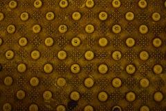 污浊的黄色金刚石板材 免版税库存照片