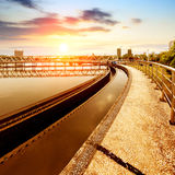 污水处理厂 免版税库存图片