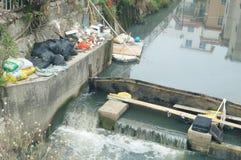 污水抑制 库存照片