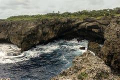 汤加海岸 免版税库存照片
