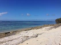 汤加海滩 免版税库存照片