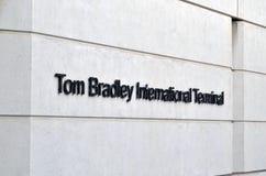 汤姆布拉德利国际机场 免版税图库摄影