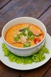 """汤姆汤†""""泰国食物 免版税库存图片"""