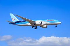 汤姆生787 Dreamliner 库存照片