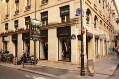 汤姆・福特商店在巴黎(法国) 库存照片