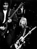汤姆Petty和Heartbrakers - 1995年,渥斯特中心埃里克L 约翰逊 免版税库存照片