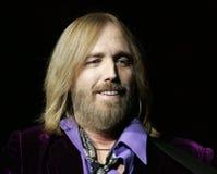 汤姆Petty在音乐会执行 免版税库存照片