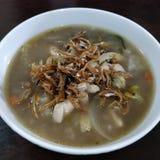 汤或粥汤 免版税图库摄影