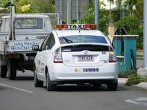 汤斯维尔。澳大利亚。城市。出租汽车。 库存图片