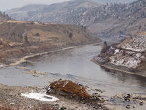 汤普森河 免版税库存照片