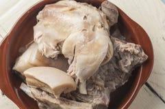 汤炖煮的食物系列02 免版税库存照片