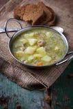 汤用肉和菜 免版税库存图片