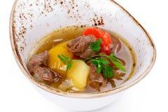 汤用肉 免版税库存照片