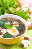 汤蔬菜 免版税库存照片