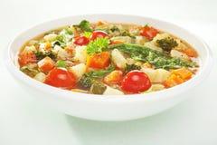 汤蔬菜 免版税库存图片