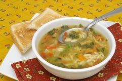 汤蔬菜 免版税图库摄影
