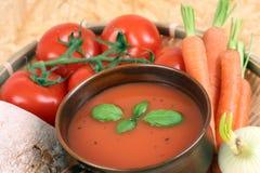 汤蕃茄 图库摄影