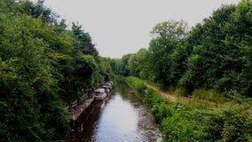 汤顿和Bridgwater运河萨默塞特 库存照片