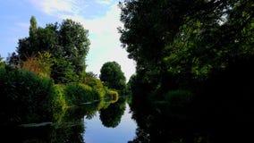 汤顿和Bridgwater运河萨默塞特 免版税库存照片