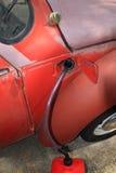 汽油偷窃 免版税图库摄影
