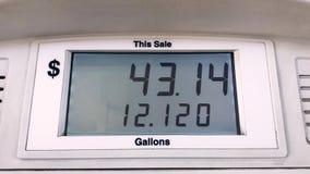 汽油箱燃料lcd显示器 股票录像