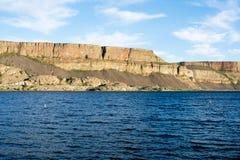 汽船岩石东部华盛顿州的,美国国家公园 免版税库存照片