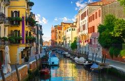 汽艇在威尼斯 图库摄影