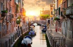 汽艇在意大利 免版税库存图片