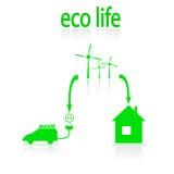 Eco 库存例证