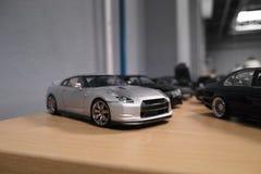汽车不同的微型位置 免版税库存照片