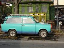 汽车东德trabant 库存照片