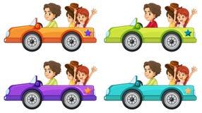 汽车乘驾 向量例证