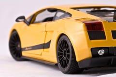 汽车体育运动玩具 免版税库存照片
