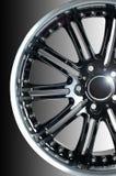 汽车体育运动轮子 免版税库存照片