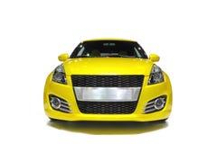 汽车体育运动黄色 库存照片
