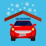 汽车保险和保护 安全生活 免版税库存照片