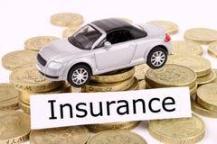 汽车保险 免版税库存图片
