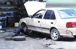 汽车修理 免版税图库摄影