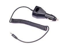 汽车充电器移动电话 库存图片
