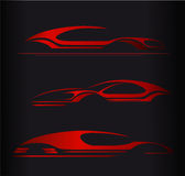 汽车公司商标传染媒介设计 库存图片