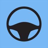 汽车内部指点运输轮子 免版税库存图片