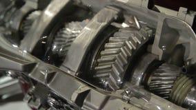 汽车制造业。引擎。 股票录像