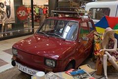 汽车制造业的传奇在共产主义波兰 免版税库存照片